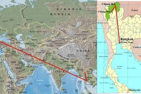 Teereise nach Nord-Thailand